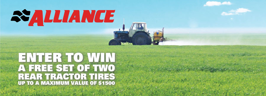 ALLIANCE FARM TIRES FOR PRODUCTIVITY AND REDUCED SOIL COMPACTION